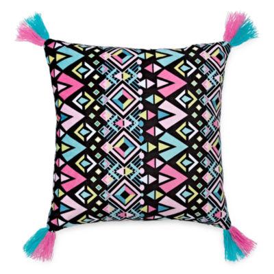 Arizona Aztec Square Throw Pillow