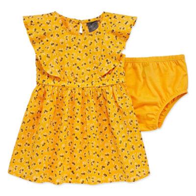 City Streets Mom & Me Ruffle Dress - Baby Girls