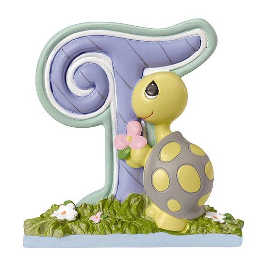 Precious Moments Letter T  Figurine Baby Milestones - Unisex