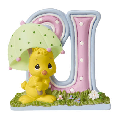Precious Moments Letter U  Figurine Baby Milestones - Unisex