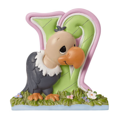 Precious Moments Letter V  Figurine Baby Milestones - Unisex