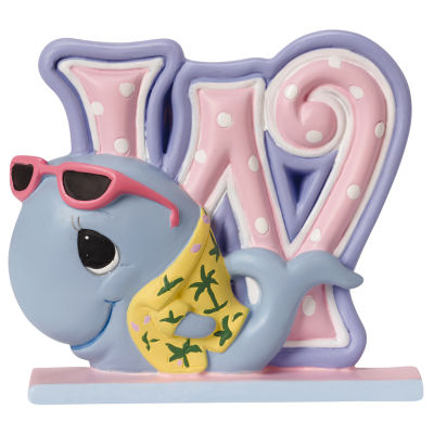 Precious Moments Letter W  Figurine Baby Milestones - Unisex
