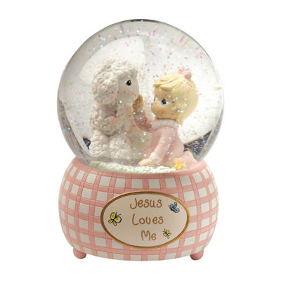 Precious Moments Snow Globe Baby Milestones - Girls