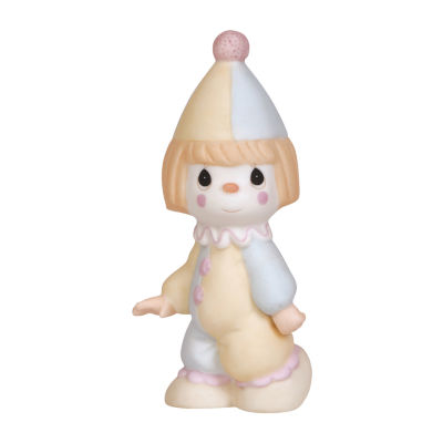 Precious Moments Birthday Train Clown Figurine Baby Milestones - Unisex