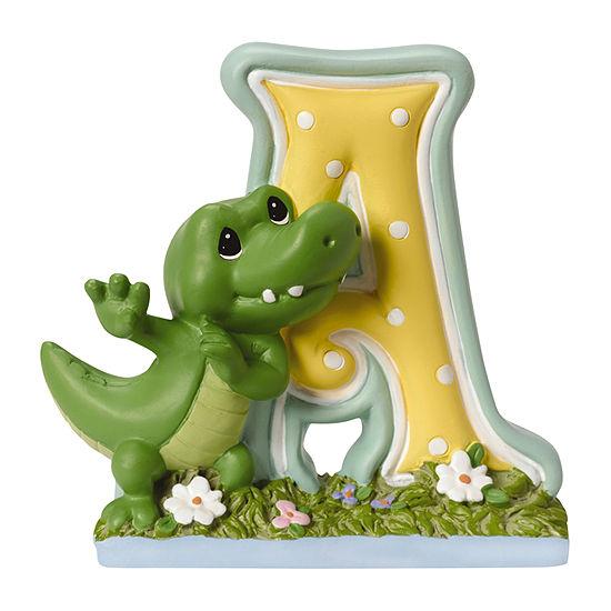 Precious Moments Letter A Figurine Baby Milestones - Unisex