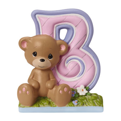 Precious Moments Letter B Figurine Baby Milestones - Girls