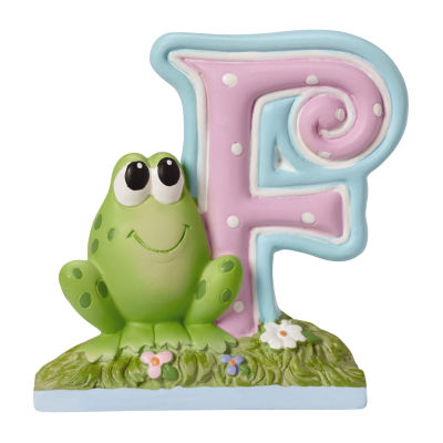 Precious Moments Letter F Figurine Baby Milestones - Unisex