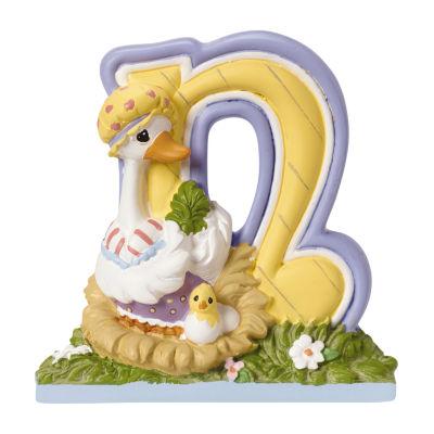Precious Moments Letter N Figurine Baby Milestones - Unisex