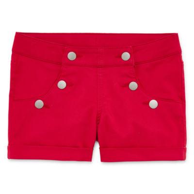 Arizona Sailor Shortie Shorts Girls 4-16 and Plus