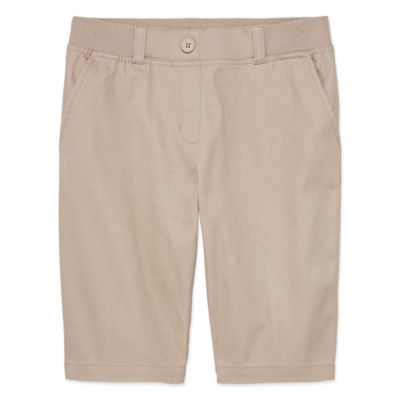 Izod Exclusive Girls Stretch Bermuda Short