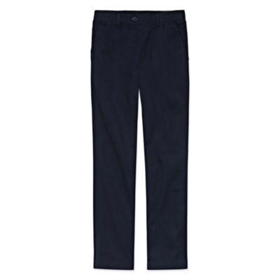 Izod Exclusive Comfort Waist Pants Girls 4-16 & Plus