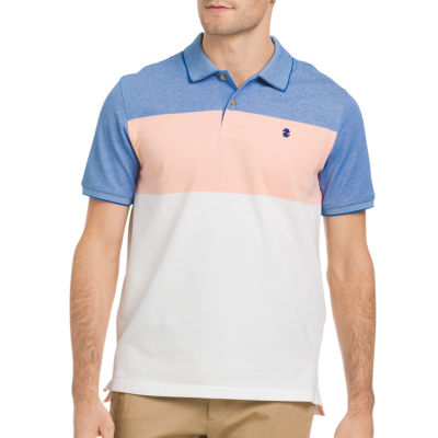 IZOD Quick Dry Short Sleeve Pique Polo Shirt