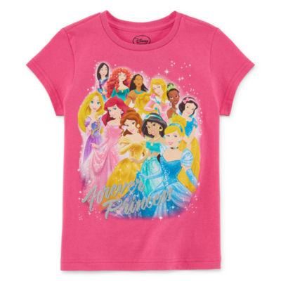 Disney Princess Graphic T-Shirt-Toddler Girls
