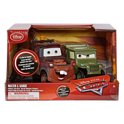 Disney Mater And Sarge 2-pc. Cars Car