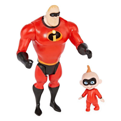 Disney Mr Incredible & Jack Action Figures
