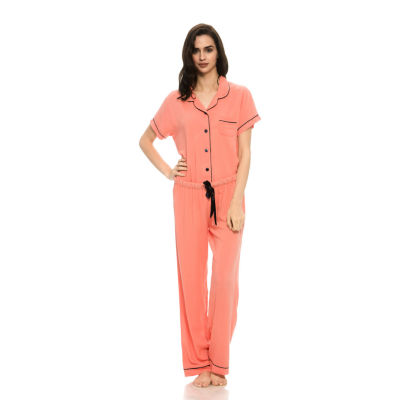Harve Benard 2-Piece Rayon Capri Pajama Set