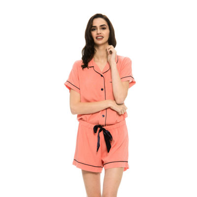Harve Benard 2-Piece Rayon Shorts Pajama Set
