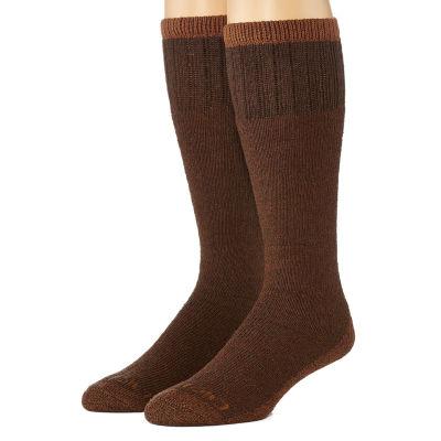 Dickies® Mens 2-Pk. Cotton Thermal Boot Crew Socks