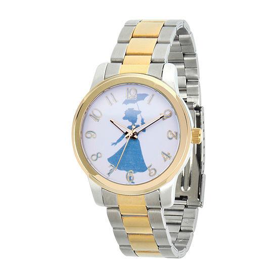Womens Two Tone Stainless Steel Bracelet Watch-Wds000634