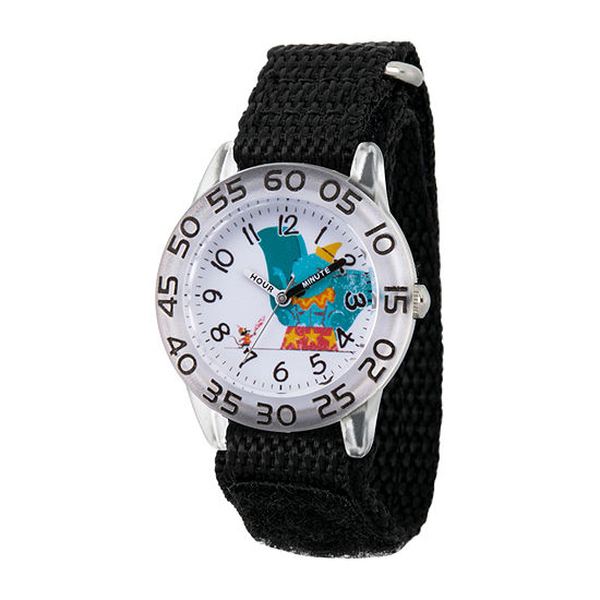 Disney Dumbo Girls Black Strap Watch-Wds000642