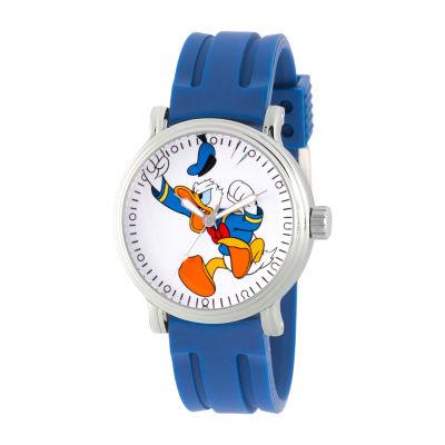 Disney Mens Blue Strap Watch-Wds000689