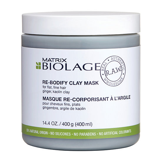 Matrix Biolage Raw Rebodify Mask Hair Mask-14.4 Oz.