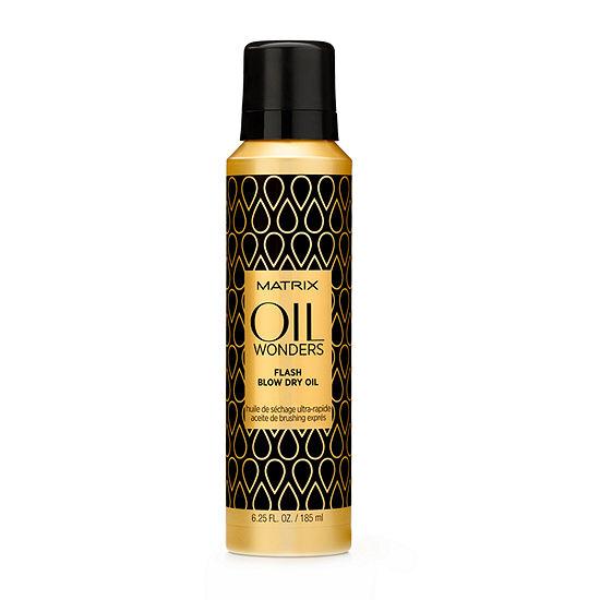 Matrix® Oil Wonders Flash Blow Dry Hair Oil – 6.25 oz.