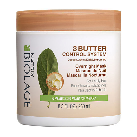 Matrix Biolage 3butter Control Overnight Hair Mask-8.5 oz.