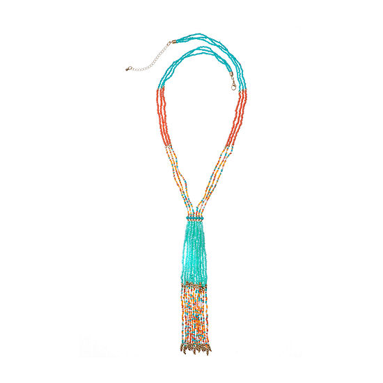 EL by Erica Lyons 30 Inch Beaded Necklace