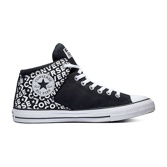 Converse Chuck Taylor All Star Hi Street Hi Wordmark Mens  Lace-up Sneakers