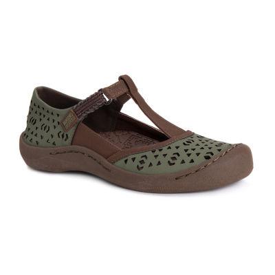 Muk Luks Womens Samantha Round Toe Slip-On Shoe