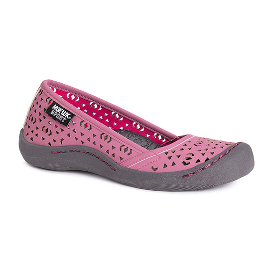Muk Luks Womens Sandy Round Toe Slip-On Shoe