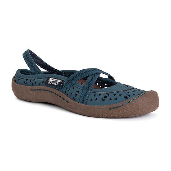 Muk Luks Womens Erin Round Toe Slip-On Shoe