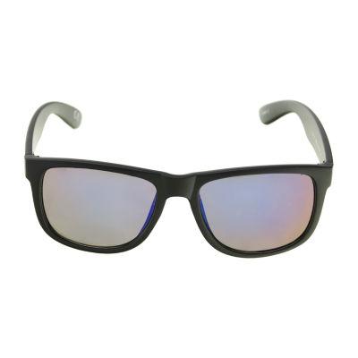 Arizona® Deep Dish Retro Rectangular Sunglasses