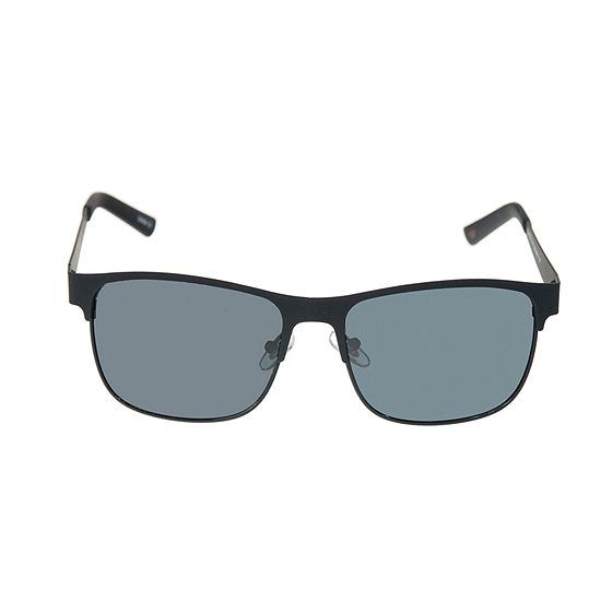 Dockers® Matte Retro Rectangular Sunglasses