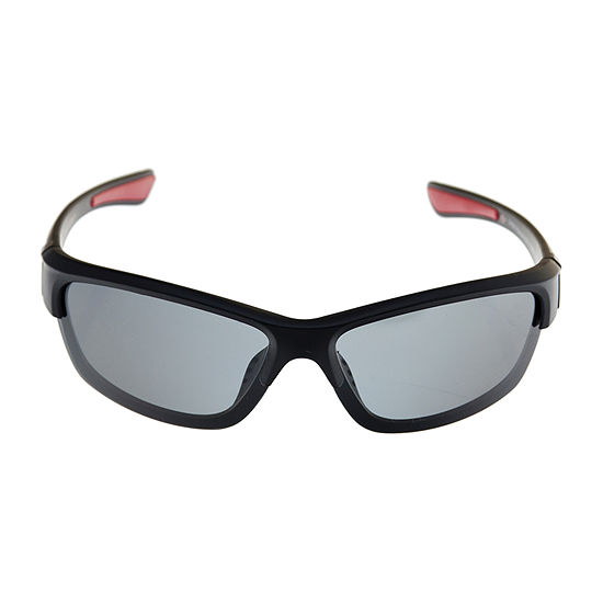 Dockers® Black Mounted Blade Sunglasses
