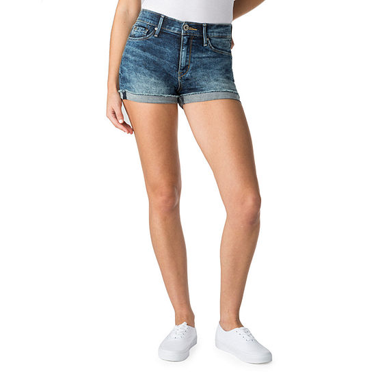 DENIZEN from Levis™ High Waisted Denim Short-Juniors
