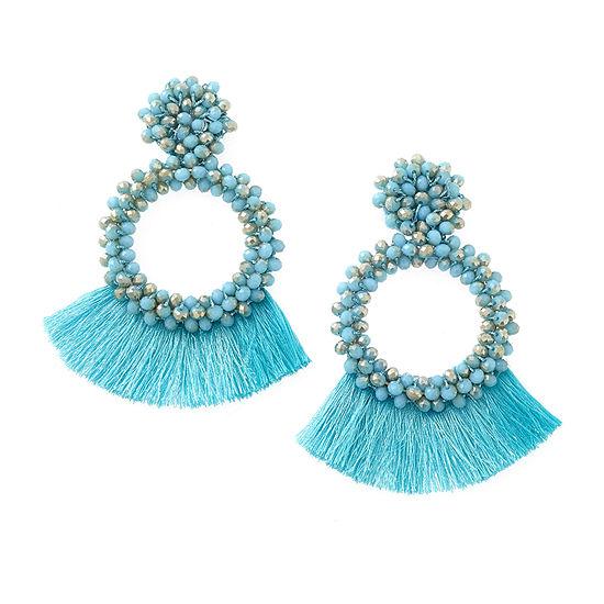 Bijoux Bar Blue Drop Earrings