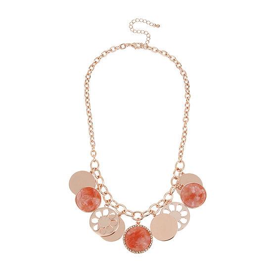 Worthington 18 Inch Link Pendant Necklace