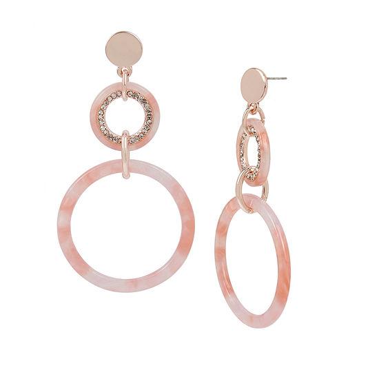 Worthington 3 Inch Hoop Earrings