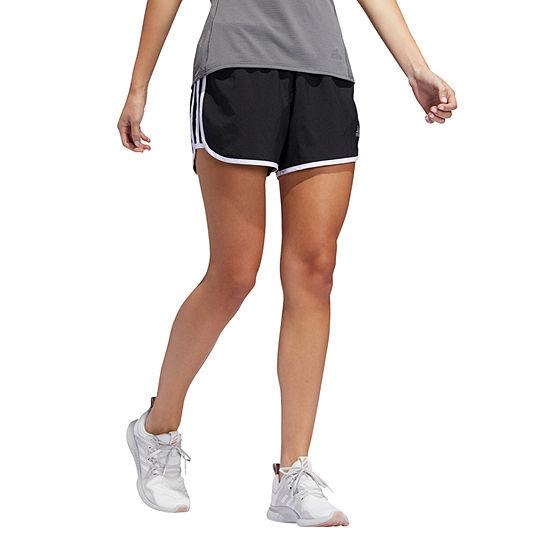 "adidas M20 Woven Running Short Womens Mid Rise 3"" Running Short"