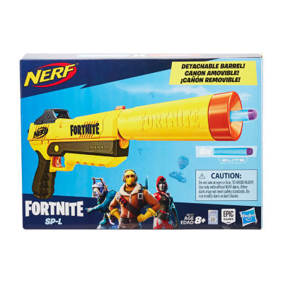 Nerf Fortnite SP-L Elite Dart Blaster with 6 Darts