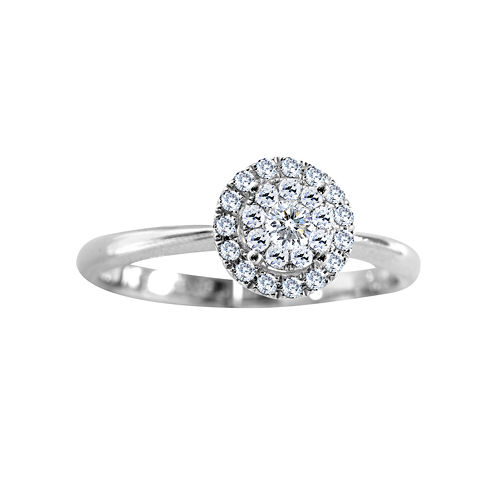 Brilliant Dream™ 1/4 CT. T.W. Diamond Engagement Ring