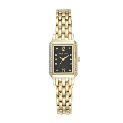 Armitron® Womens 5411 Gold-Tone Bracelet Watch