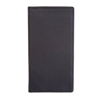 Royce® Leather Checkbook Wallet