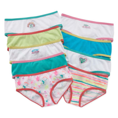 Maidenform 9 Pair Hipster Panty Girls