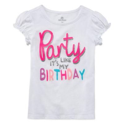 Okie Dokie Girl Birthday T-Shirt-Preschool Girls