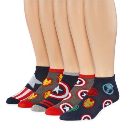 Marvel® Avengers 5-pk. Low Cut Socks