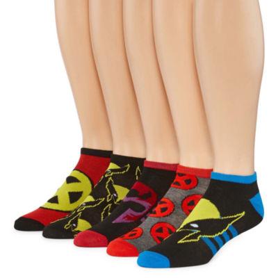 Marvel® Wolverine 5-pk. Low Cut Socks