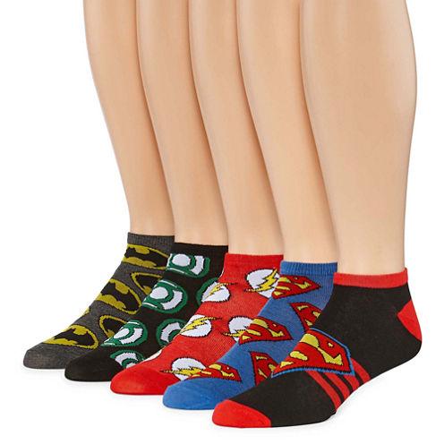 DC Comics® Justice League 5-pk. Low Cut Socks